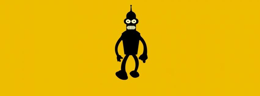 bender-minimalistic-robots-yellow-background-tv-shows-851x315-59543