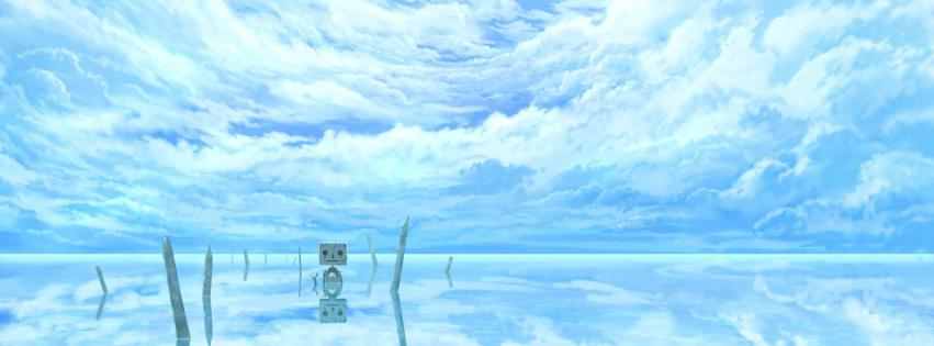 water-clouds-robot-scenic-original-characters-sky-mirror-851x315-32360