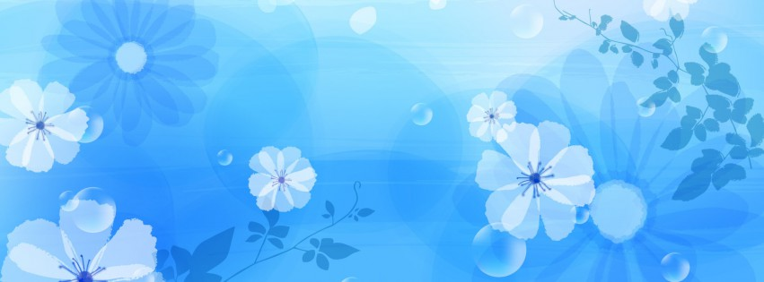 Wallpaper-Abstrakt-Blumen-Blau-Abstact-Blume-Design-315x851